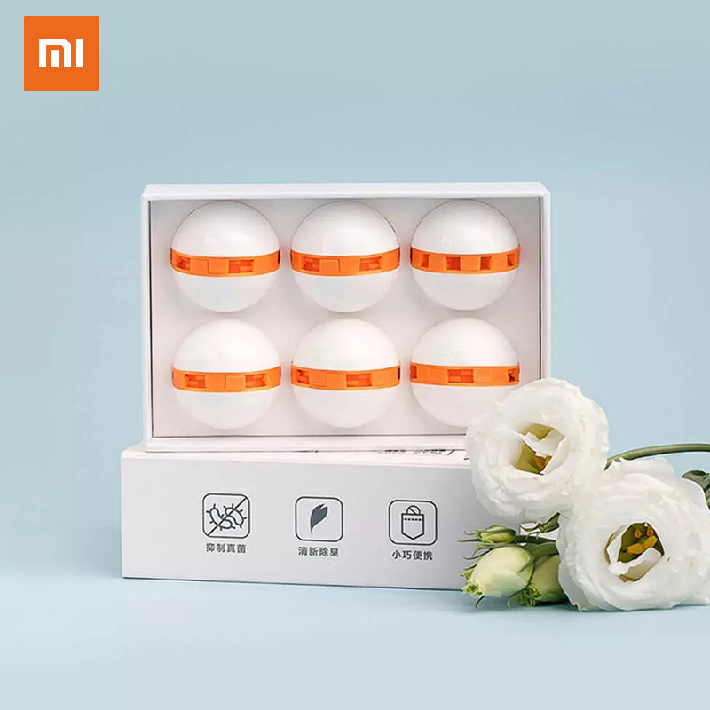 Xiaomi Youpin Mijia Clean Fresh Shoes Deodorant Dry Deodorizer Air Purifying Switch Ball Shoes Eliminator For Home Shoes