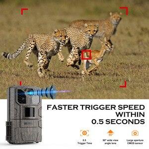 Image 2 - Cámara de caza por infrarrojos WIMIUS 1080P, cámara de 16MP, 940nm IR, Led de visión nocturna, detección de movimiento, resistente al agua, cámara de rastreo para caza silvestre