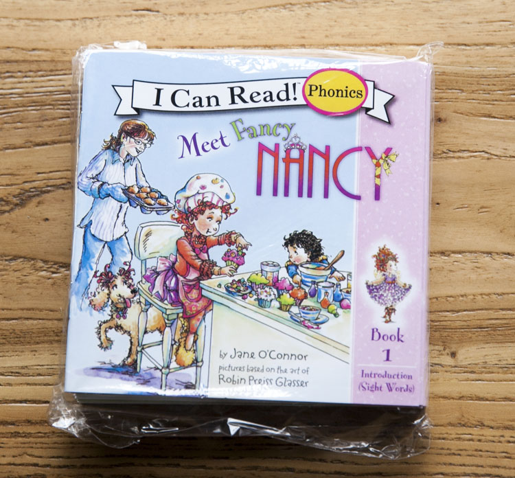 12 Books/set I Can Read Phonics Books FANCY NANCY In English Language Book For Baby Kids Story Books For Children Learning Toy