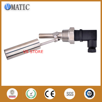 Free Shipping VCL13 magnetic floating ball level switch Stainless Steel 90 Degrees Side Mounted Side Level Sensor