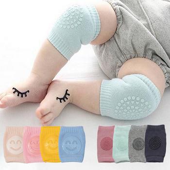 Dzieci antypoślizgowe indeksowania łokieć niemowlęta akcesoria dla dzieci uśmiech ochraniacze na kolana Protector bezpieczeństwa Kneepad ocieplacz na nogi dziewczyny chłopcy tanie i dobre opinie Lovyno CN (pochodzenie) CZTERY PORY ROKU W wieku 0-6m 7-12m 13-24m Dziecko dla obu płci baby COTTON POLIESTER getry Na co dzień