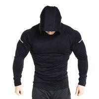 black hooded