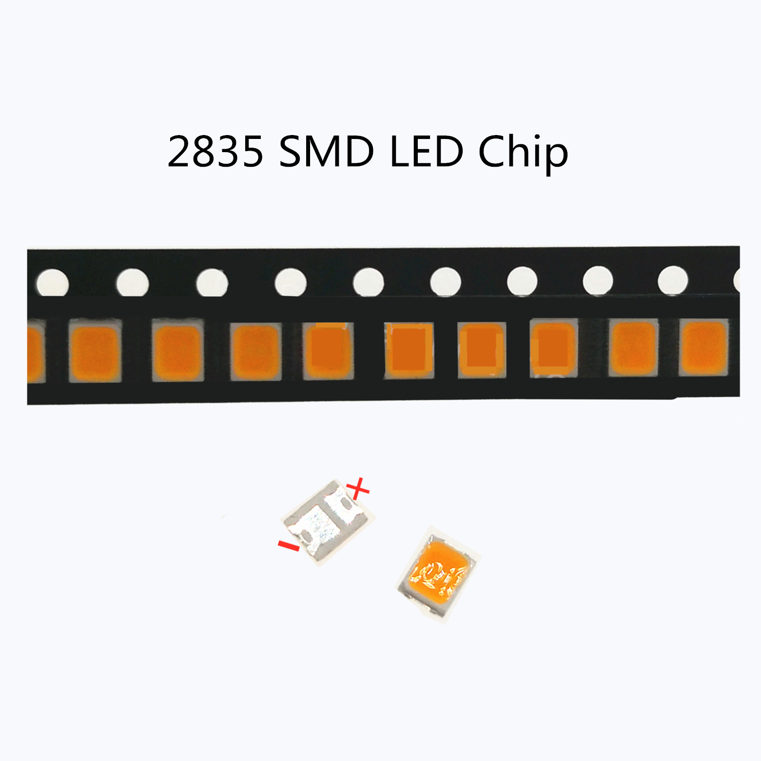 50-1000pcs 120l-130LM <font><b>LED</b></font> Backlight 1210 3528 <font><b>2835</b></font> 3V 6V 9V 18V 1W cold white 9500K -11000K For <font><b>LG</b></font> Innotek LCD Backlight <font><b>LED</b></font> TV image
