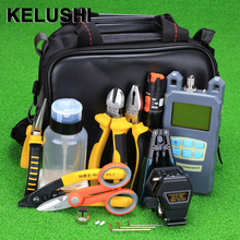 KELUSHI Ftth-Tool-Kit Fc-6s-Fiber Cleaver Visual-Fault Fiber-Optic Locator Optical-Power-Meter-10mw