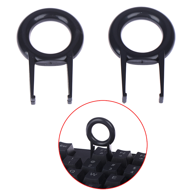 2PCS Mechanical Keyboard Keycap Puller Remover For Keyboards Key Cap Fixing Tool