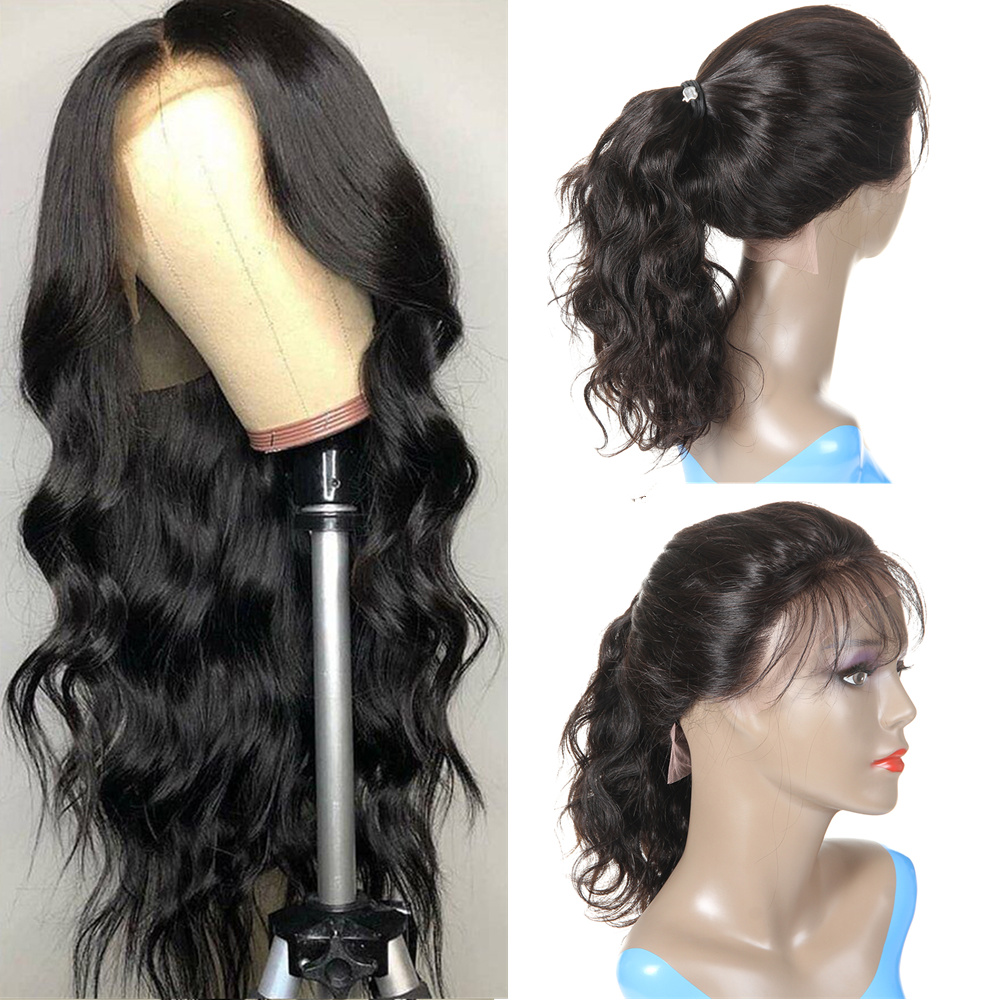 Body Wave Lace Front Human Hair Wigs For Black Women Pre Plucked With Baby Hair Brazilian Remy Hair 13x4 Lace Front Wig Morichy
