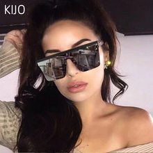 KIJO Oversized Womens Sunglasses Fashion Sun Glasses Big Frame Windproof Shades