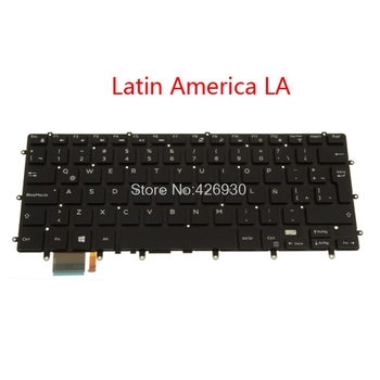 LA Backlit Keyboard For DELL For XPS 15 9550 9560 For Precision 5510 5520 For Inspiron 7347 7348 7352 7353 7359 7568 Latin new image
