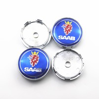 4pcs 60mm Wheel Center Hub Caps Car Emblem Badge Logo Wheel Center Cap For Saab 9 3 9 5 9 2x 9 5x Car Styling|Wheel Center Caps|Automobiles & Motorcycles -