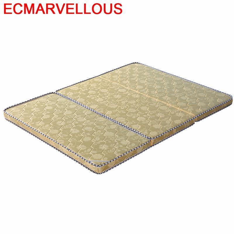 Plegable Foldable Bed Matratze Topper Tatami Bedroom Furniture Colchones De Cama Materac Matras Matelas Colchon Folding Mattress