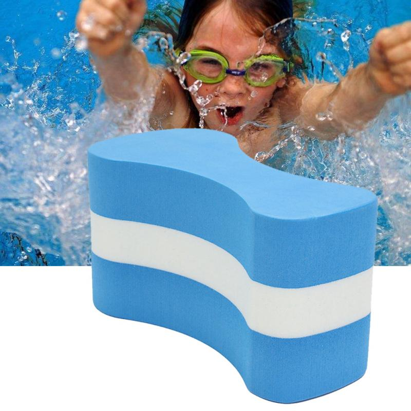 Summer Waterproof  Foam Pull Buoy Float Kickboard Kids Adults Pool Swimming Safety Training Aid Anti-vibration Soundproof
