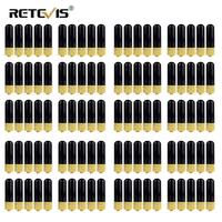 100pcs Retevis RT 805S VHF UHF Antenna SMA F Short Antenna For Kenwood Baofeng UV 5R BF 888S Retevis H777 RT 5R Walkie Talkie