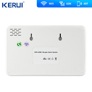Image 3 - Kerui W18 Wireless Wifi Home Alarm GSM IOS Android APP Control LCD GSM SMS Burglar Alarm System For Home Security Alarm