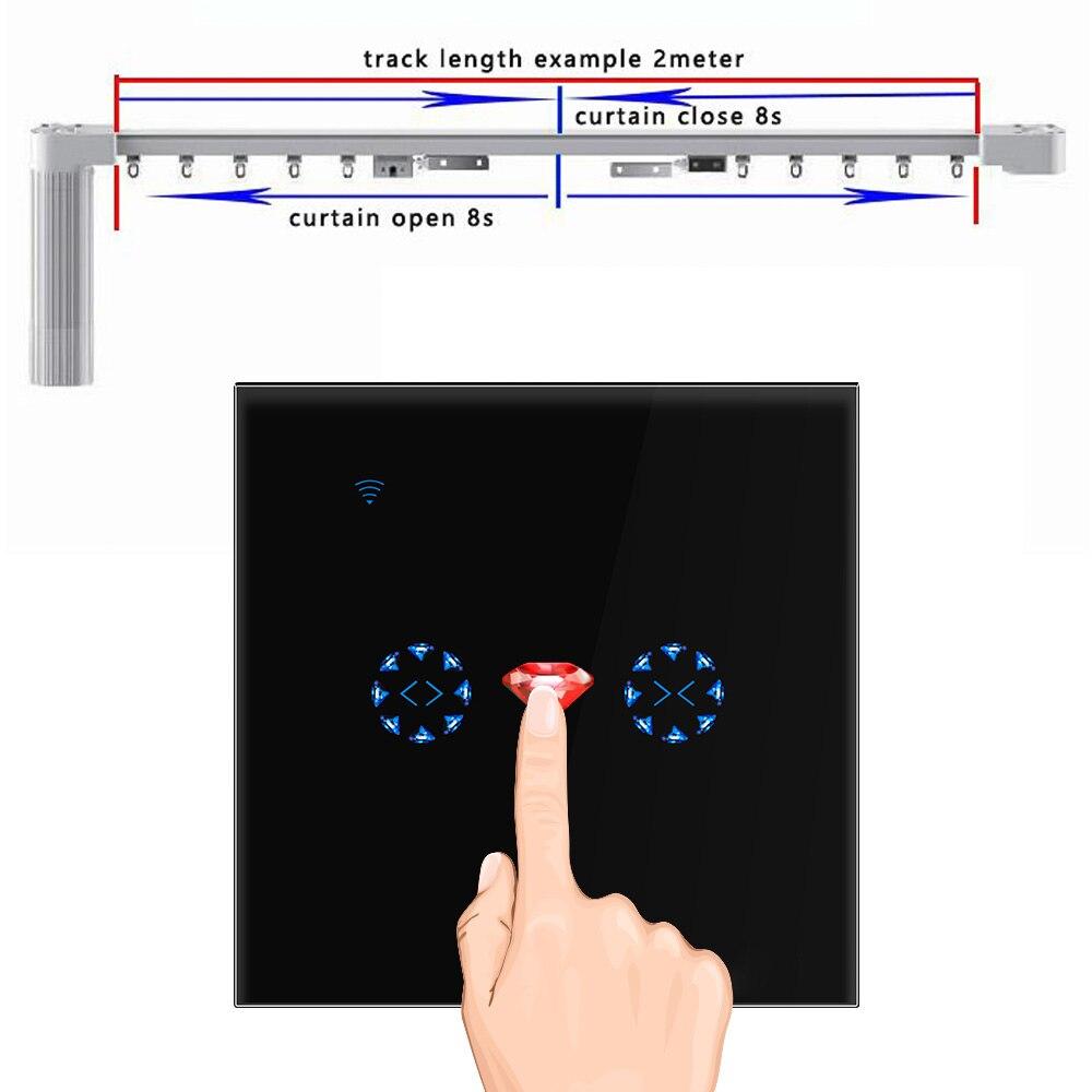 Wi-Fi занавес затвора Дверь умный переключатель обновление управления поверхность работает с Amazon Alexa/Echo, Google Home