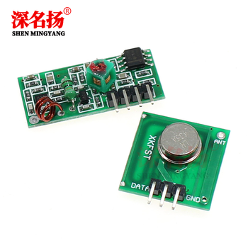 315M/433M frequency super regeneration module wireless transmitter module anti-theft alarm transmitter receiver image
