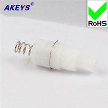 10 PCS 950-A White Flashlight Switch Wenzhou one-button self-lock switch стоимость