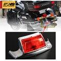 Новая мотоциклетная обувь с красными стеклами хром заднее крыло наконечник светильник Edge светодиодный задний фонарь светильник подходит д...