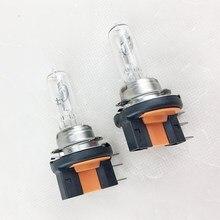 Original h15 halogênio bulbo 12 v 15/55 w 3800 k carro farol lâmpada 2 pces