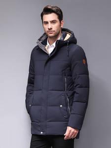 Blackleopardwolf 2019 Зимняя мужская куртка модное пальто мужская парка ветрозащитная съемная верхняя одежда зимние куртки мужские BL-1837