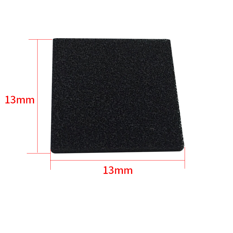 5 pcs high quality Activated Carbon Filter Sponge for 493 Solder Smoke Absorber ESD Fume Extractor size 13cm*13cm
