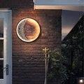 Светодиодный Открытый водонепроницаемый Пейзаж Настенный светильник Современный крыльцо для наружных стен светильник садовый светильник...