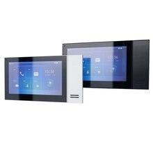 DH w wielu językach VTH2421FW-P 802.3af PoE 7 cal dotykowy Monitor wewnętrzny, dzwonek do drzwi, Monitor, wideodomofon monitora, SIP wersja
