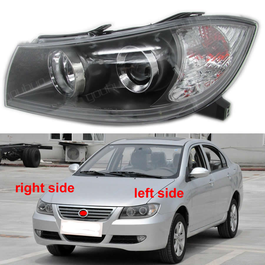 For Lifan 620 Headlights Headlight Assembly Front Lights Light Headlamp With Led Light Lamp Unit