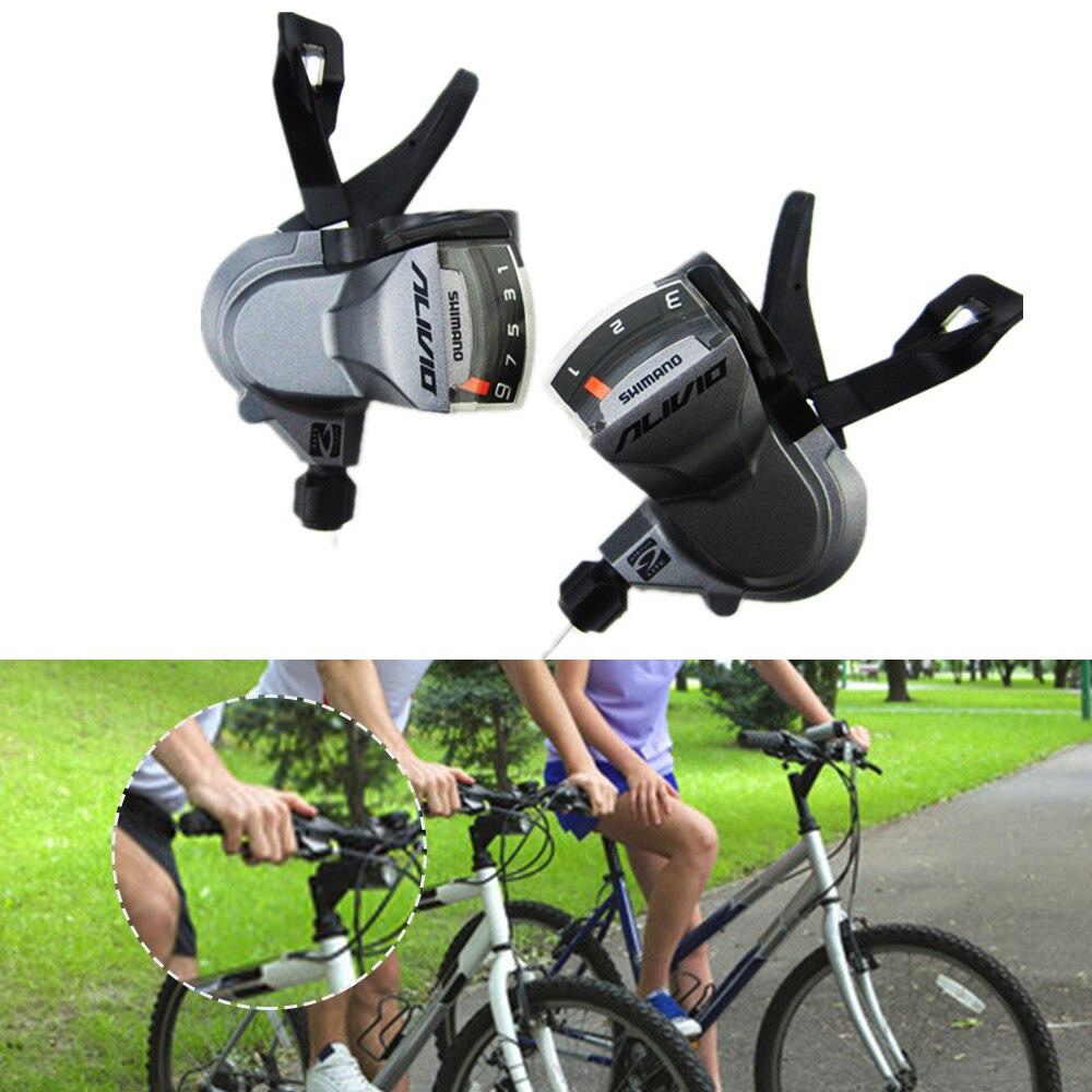 Велосипедные переключатели SL-M370 Мега 9 тяги 3/9 Скорость 27 Скорость рычаг переключения скоростей MTB велосипед переключения Аксессуары для ве...