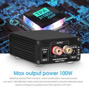 Image 2 - Douk אודיו Hi Fi 100W מיני TPA3116D2 סאב/מלא תדר כוח מגבר מונו ערוץ דיגיטלי אודיו Amp