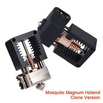 Clone Mosquito Magnum Hotend All Metal V6 Copper Nozzle J-head For Ender 3 CR10 I3 MK3S 3D Printer Parts Titan BMG Extruder all metal high temperature v6 hotend for creality cr10 ender 3 prusa i3 mk3s alfawise titan bmg extruder 3d printer parts