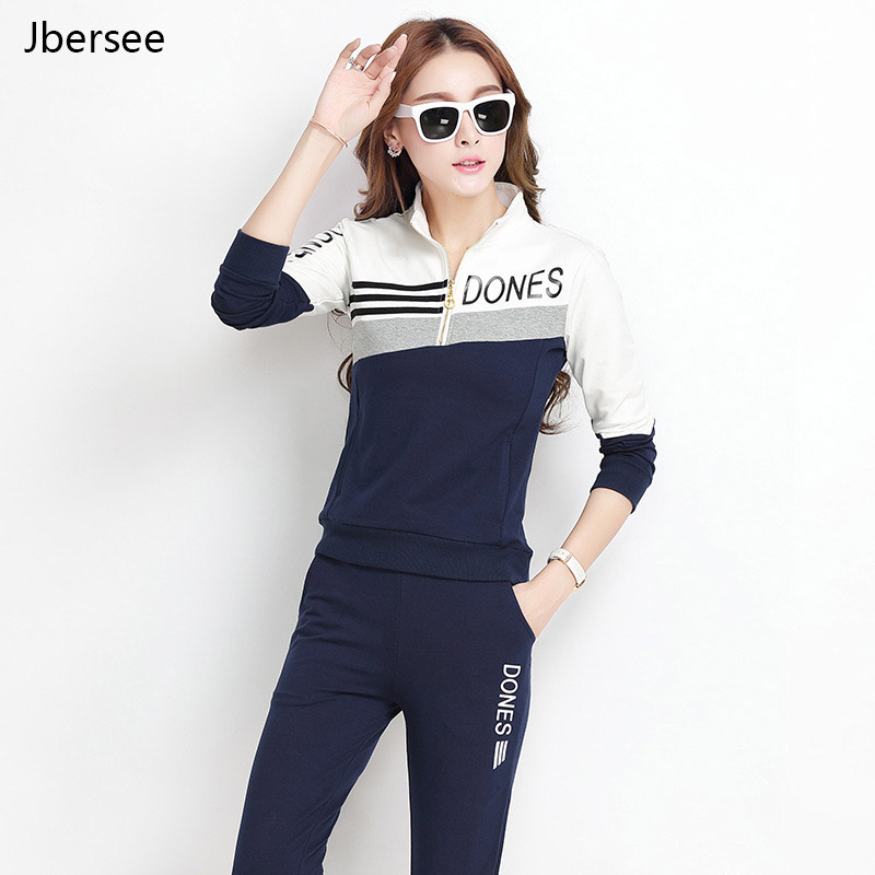 High Quality Tracksuit For Women Plus Size Clothes Long Sleeve Female White Two Piece Set Women Casual Sport Suit Women Set