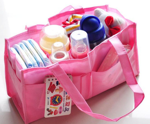 Le Beans Diaper Bag Inner Wearing Hand Inner Wearing Inner Wearing Partition Bag Diaper Bag Storage Bag Portable Models