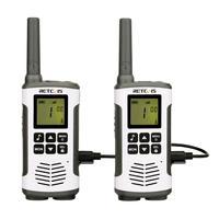 עבור שני הדרך Retevis RT45 PMR446 Portable שני הדרך Talkie Walkie 2PC רדיו 0.5W PMR 446MHz FRS VOX סוללות נטענות עבור מוטורולה TLKR T50 (1)