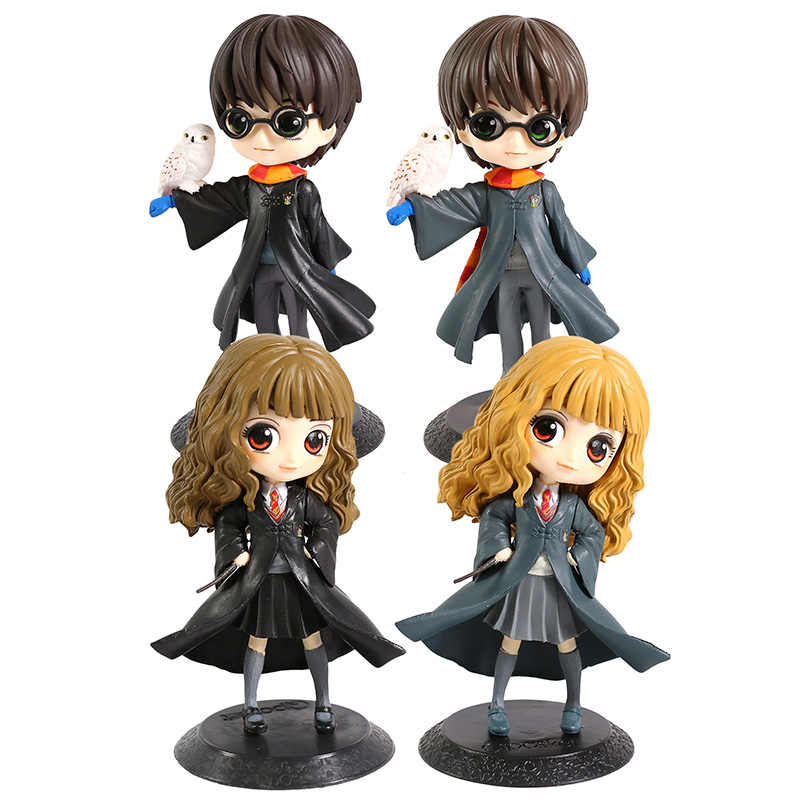 Q Posket Hermione PVC Figura Collectible Toy Modelo