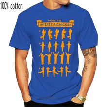 100% Cotton Short Sleeve O Neck Tops Tee Arrested Development How To Imitate A Chicken mens cotton t shirt