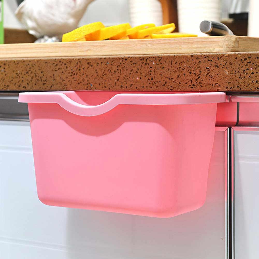 7 צבע סביבה תליית ארון מטבח דלת אשפה מתלה סגנון פירות ארגונית בינס מתלה אחסון אשפה Boxs #3