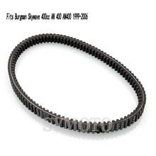 цена на AN 400 Motorcycle rubber clutch transmission driven belt gear pulley belt For Suzuki Burgman Skywave 400cc AN 400 AN400