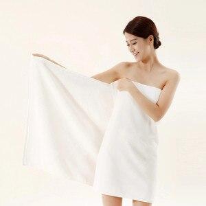 Image 3 - Für Erwachsene Baumwolle Große Handtuch Weichen Strand Sport Reise Zubehör Waschlappen Wasser Absorption Waschlappen