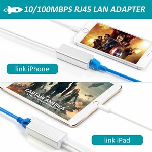 Image 5 - Phone Ethernet Adapter To RJ45 LAN Wired Network Link Charger Cable for IPhone 11 Pro Xs MAX XR 6 7 8 Plus for IPad Internet
