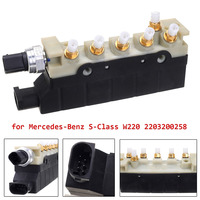 Replacement For Mercedes Benz S Class W220 Air Suspension Compressor Valve Block 2203200258 A2203200258