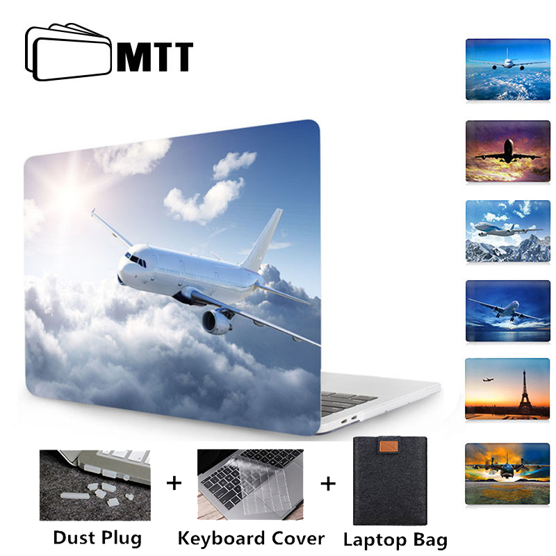 MTT Painted Crystal Case For Macbook Pro 13 15 Touch Bar A1989 A1990 A1706 A1707 A1708 For New Macbook Air 13 Case 2018 A1932