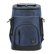 Large Capacity 33l Refrigerator Bag 36 Cans Beer Cooler Backpack Refrigerator Portable Picnic Bag Thermal Food Cooler Ice Pack