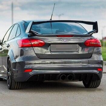 フォードフォーカス spoiler2015-2017 高品質の Abs 材料車のプライマー色リアスポイラーのためのフォードフォーカス 2015 +
