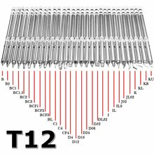 T12 Series Soldering Iron Tips for HAKKO T12 Handle LED vibration switch Temperature Controller FX951 FX-952(China)