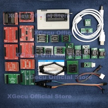 שחור שקע V10.27 XGecu TL866II בתוספת USB מתכנת תמיכה 15000 + IC SPI פלאש NAND EEPROM MCU להחליף TL866A TL866CS + 26 חלקי
