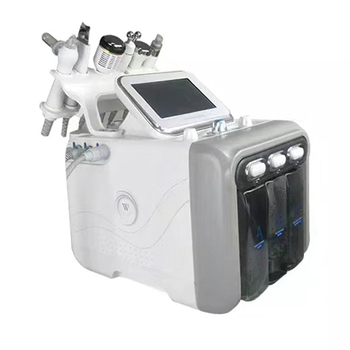 Hydrafacial 6 in 1 Water Oxygen Facial Deep Cleansing Exfoliating Hydro Dermabrasion Facial Lifting Machine Skin Care Tools 6 in 1 water oxygen hydrafacial machine skin care deep cleansing exfoliating hydro dermabrasion water oxygen jet peel machine