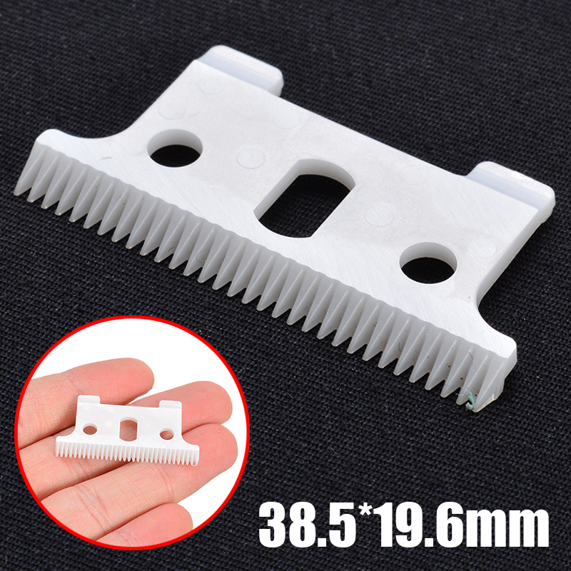 2pcs/set High Quality T-outliner Replacement Ceramic Blade Clipper Cutter Trimmer Dog Hair Trimmers For Andis 38.5*19.6mm image