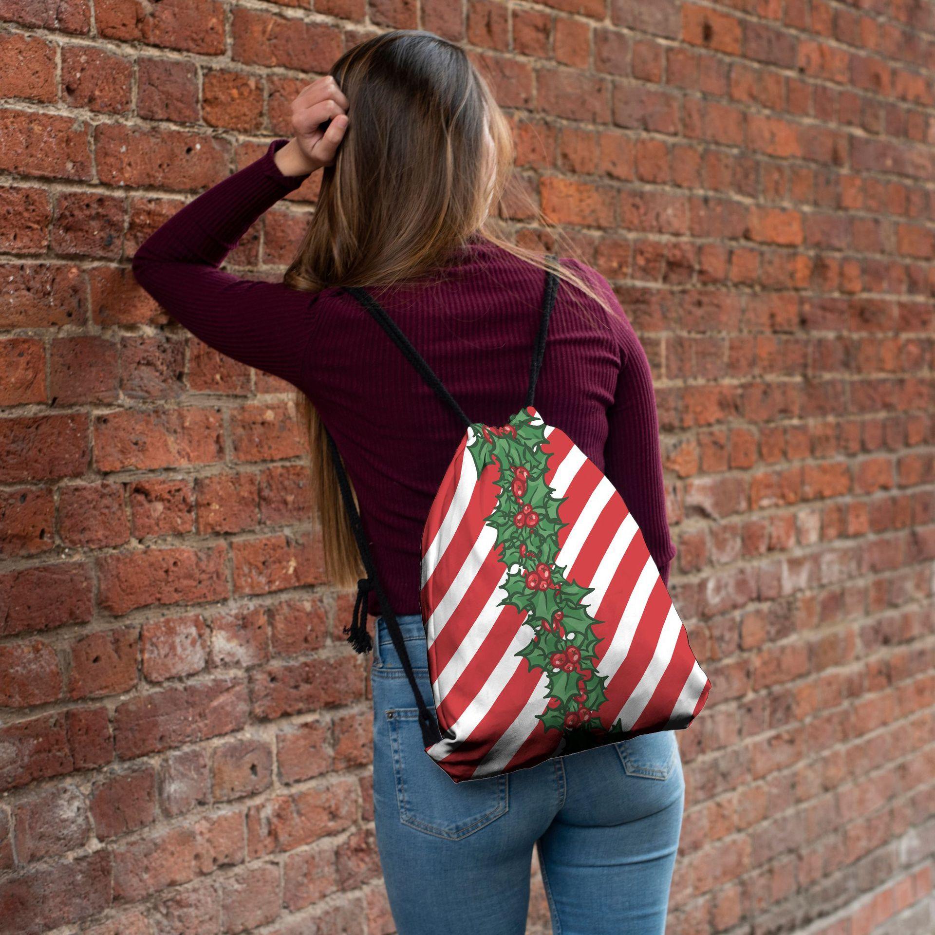 Moda impresso mochila unisex nova série de