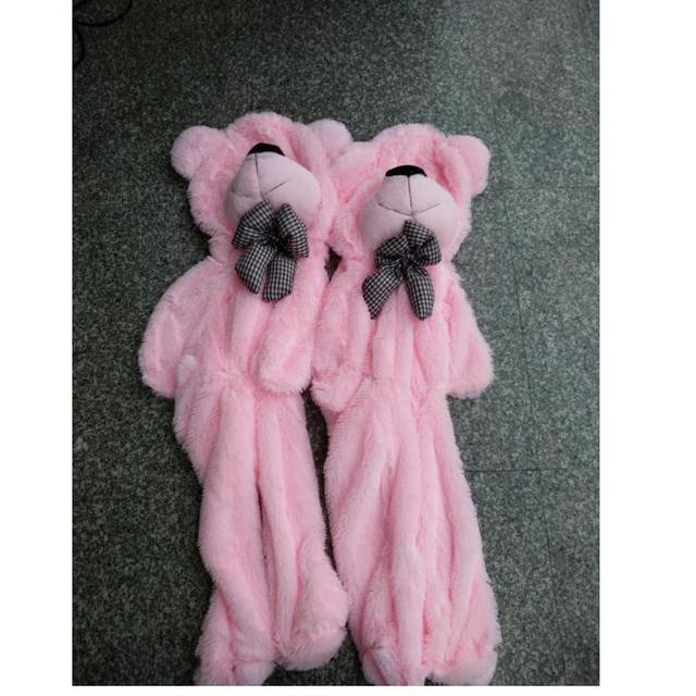 Big Sale 60cm to 200cm cheap giant unstuffed empty teddy bear bear skin toy plush Teddy Bear bearskin plush toys 7 colors Uncategorized Decoration Stuffed & Plush Toys Toys