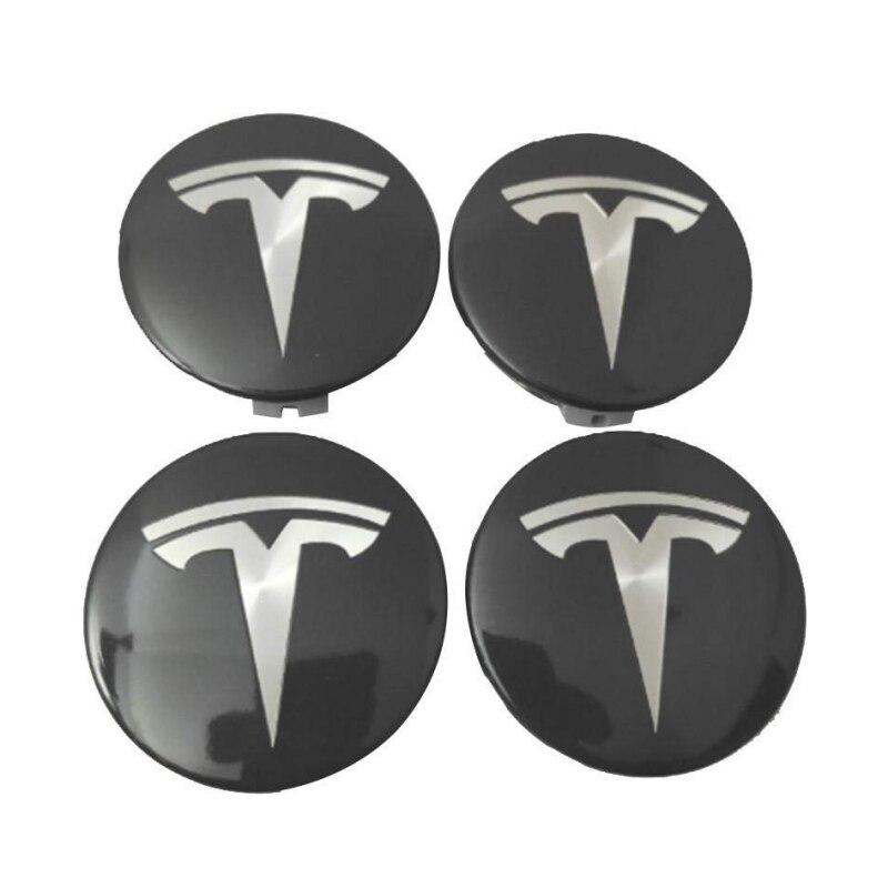OEM Aero Wheel Center Cap + 20 Lug Nut Covers Kit For Model 3 S & X New